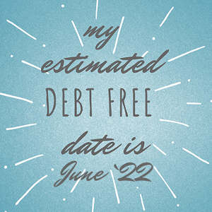 my debt free date