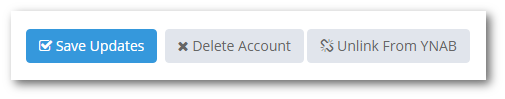 unlinking YNAB accounts
